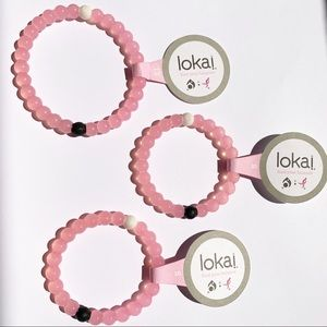 NWT LOKAI BRACELET, Breast Cancer Awareness, S, XL